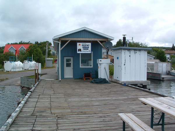 The Harbour Masters office at Rossport