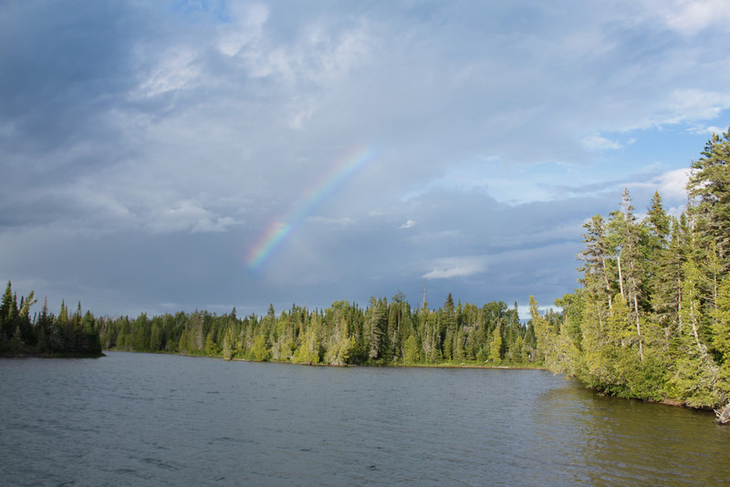 Rainbow at West Caribou